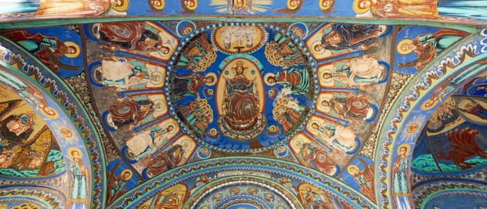 schildering in Oosterse Kerk