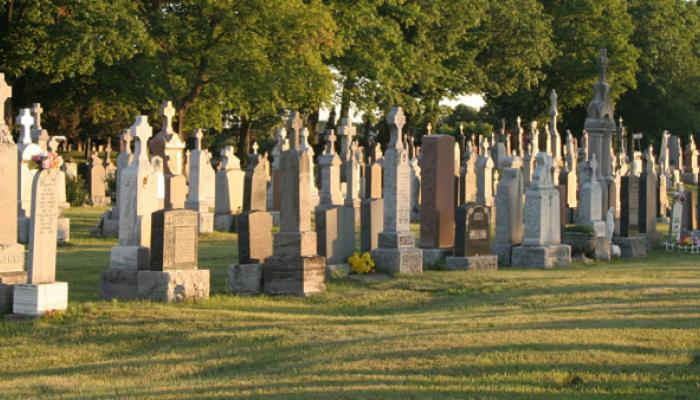grote begraafplaats