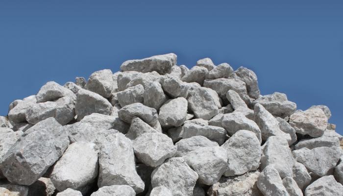 hoop met stenen