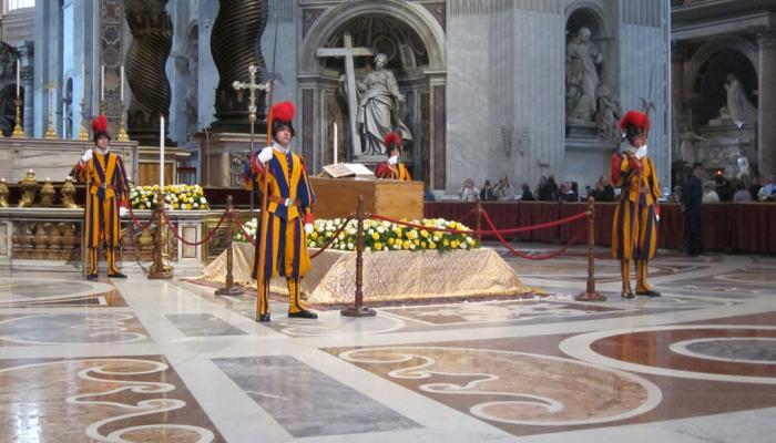 grafkist paus Johannes Paulus II