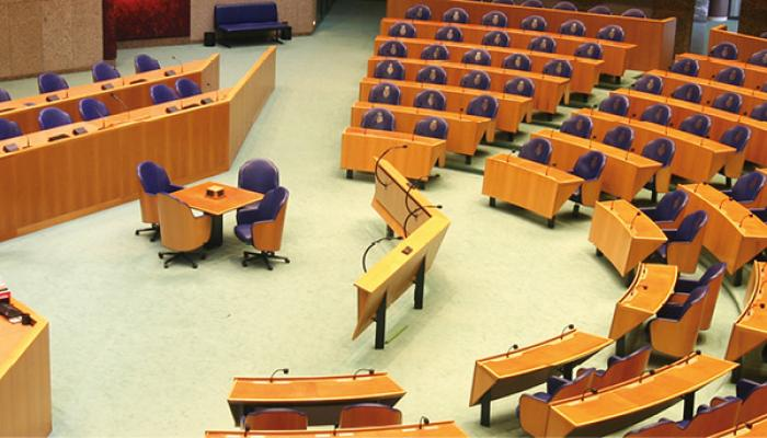 Photo of the Dutch House of Representatives (Tweede Kamer)